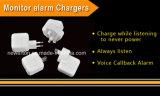 Mini GSM SIM Card Ear Bug Carregador de parede USB Dispositivo de escuta ativado por voz