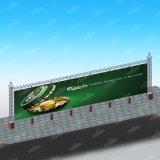 Cartelera de la columna del pórtico del uso de la visualización del equipo de la publicidad al aire libre