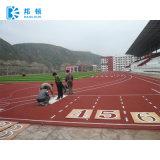 trilha Running plástica respirável de 13mm, pista de decolagem para o revestimento de borracha da raça atlética