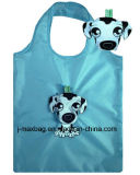 Sacchetto pieghevole riutilizzabile di promozione di acquisto di modo con il sacchetto 3D, lo stile animale del cane, i sacchetti riutilizzabili, leggeri, di drogheria e pratico, Eco, regali