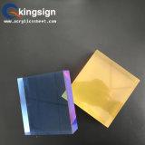 Hoja colorida del acrílico de la capa doble