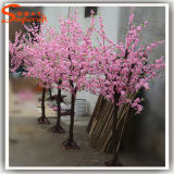 고품질 인공적인 플랜트 꽃송이 나무가 플라스틱 제품 실크에 의하여 꽃이 핀다