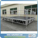 알루미늄 옥외 연주회 단계 접히는 단계 시스템