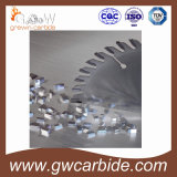 El carburo de tungsteno de la alta calidad vio que las extremidades para circular consideraron la lámina
