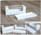 Причудливый изготовленный на заказ коробка коробки торта бумажная с окном