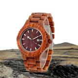 Relógio de madeira da curvatura unisex do Slingshot da forma 2016