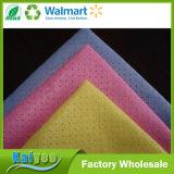 Ткань Spunlace высокого качества Non-Woven с картиной волны цвета