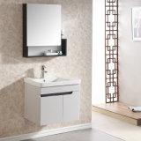 Vanité fixée au mur de salle de bains en bois solide avec le Module de miroir