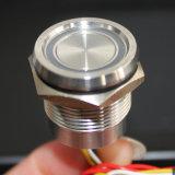 Interruttore elettrico capo concavo di tocco dell'anello LED