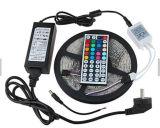 Sola fila RGB + tira a todo color blanca 14.4 de la tira 60 LED/m W IP68 LED del intervalo SMD5050 LED