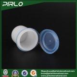 共同帽子小さい薬剤PPのプラスチック鍋12mlのプラスチック乾燥した粉の瓶が付いている12g PPのプラスチック白く装飾的な瓶
