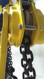 Bloc de levier à chaîne manuelle à 3 tonnes avec limiteur de surcharge