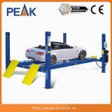 Elevador de poca potencia del vehículo del poste de la alineación 4 con el certificado del Ce (409A)