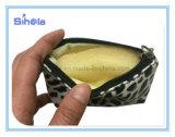 Piccolo sacchetto della moneta del leopardo, sacchetto di cuoio molle dell'unità di elaborazione