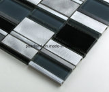 El vidrio de aluminio de Matel de los azulejos de mosaico embaldosa los azulejos Aacrrb3101 de la pared del cuarto de baño de Backsplash de la cocina de la decoración