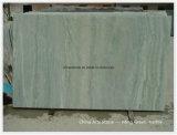 Losa de mármol verde clara china para el azulejo de la piscina