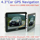 "Cheap 4.3 ""Portable Sat Nav Navegação Dispositivo Car Moto Truck GPS Navigator com ISDB-T TV Bluetooth AV-in para Rear View Câmera de estacionamento, Speed ​​Camera"