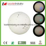 가정 훈장을%s LED 빛을 바꾸는 색깔을%s 가진 새로운 백색 세라믹 공