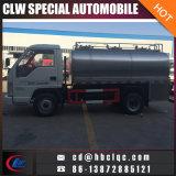 Forland 5tonの新しいミルクの交通機関タンクトラックのミルクのタンク車