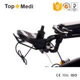 Кресло-коляска электричества подъема Topmedi с держателем телефона чашки тента