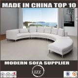 Sofà molle moderno della mobilia del salone del sofà del cuoio della qualità superiore