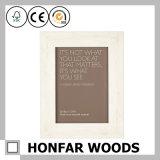 Картинная рамка оптовой продажи 7X7in естественная деревянная