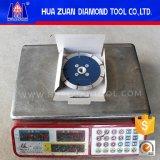 125mm diamante Sierra de sierra segmentada con brida