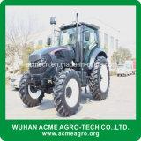Trator de exploração agrícola da alta qualidade 120HP 4WD grande