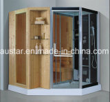 sauna combiné par vapeur de 1800mm avec la douche (AT-D8857)