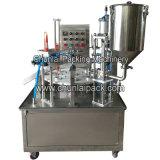 Calippoのアイスクリームの詰物およびシーリング機械