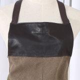 Tablier uniforme de bavoir de vêtements de travail de couleur d'Olivia de coton (RS-170305)