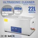 Parentesi ultrasonica del pulitore 22L 1080W del riscaldatore del temporizzatore di Digitahi dell'acciaio inossidabile