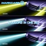 De Koplamp van de Auto 3000k 8000k van Makrcars V4 6000k H7