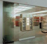 高品質の移動可能なFramelessのガラス区分のドア(BHA-DBF20)