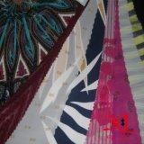 Tela Chiffon de seda da cópia de Digitas para o vestido/Hijab
