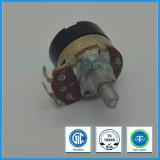 potenziometro rotativo di tasso alto di 24mm con l'interruttore per audio strumentazione