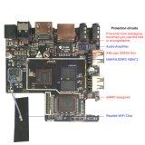 De Lxx X96 Amlogic S905X de l'androïde 6.0 de quarte le meilleur TV boîtier décodeur intelligent androïde de vente de la vente en gros TV de cadre du faisceau 4k