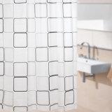 Progettare la tenda per il cliente di acquazzone impermeabile stampata della stanza da bagno della Anti-Muffa PEVA (15S0041)