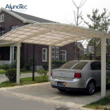 Carport outdoor en polycarbonate extérieur en aluminium pour garage automobile