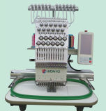 Computarizado Máquina 9 Aguja Comercial bordado para 2 Jefes computarizada Máquina del bordado