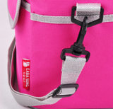 Sacchetto puro portatile del dispositivo di raffreddamento del ghiaccio di colore di fabbricazione con la cinghia di spalla