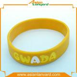 Wristband do silicone com esmalte macio