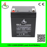 12V 4.0ah SLA Mf saure nachladbare VRLA Batterie des AGM-Leitungskabel-