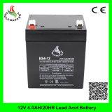12V 4.0ahMf SLA AGM de Zure Navulbare Batterij VRLA van het Lood
