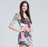 A alta qualidade imprimiu o projeto de Fshion da tela para o vestuário das mulheres