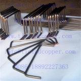 Fio de cobre do Dsa/ânodo folheados Titanium de Rod para a indústria do Cloro-Alcalóide