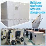 Tipo partido sitio de conservación en cámara frigorífica de la unidad del condensador