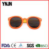 Ynjn UV400の目の保護の漫画のかわいく多彩な子供のサングラス