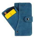 Аргументы за iPhone7 крышки телефона бумажника кожи корпии хранения наличных дег гнезда для платы застежки -молнии