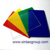 De maagdelijke Materialen kleuren Acryl Plastic Blad (XT136) als Pmma- Blad of Blad van het Plexiglas voor het Bevestigen van de Bouw